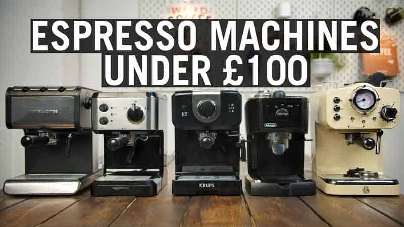 Espresso Machines Under £100